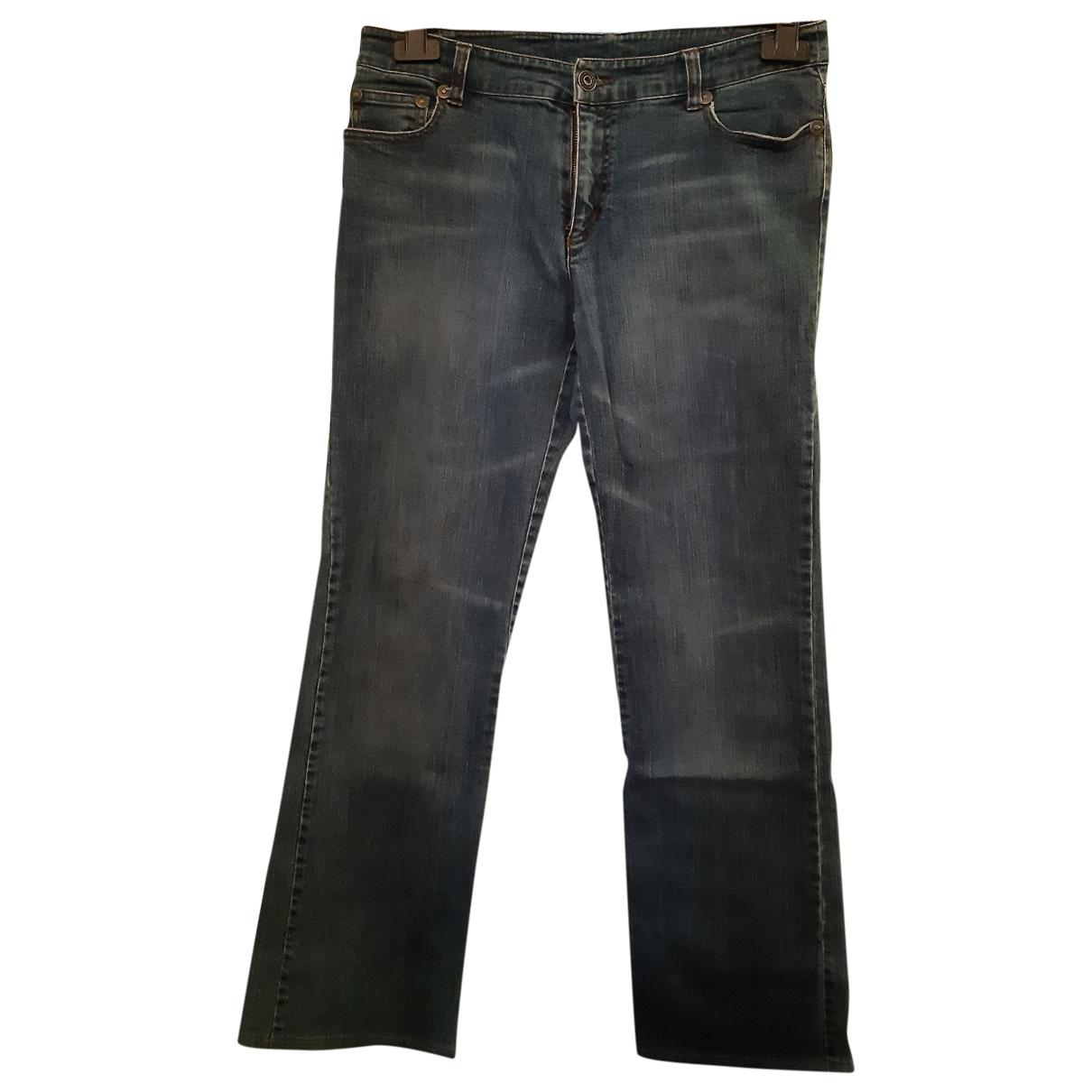 Iceberg \N Blue Denim - Jeans Trousers for Women 44 IT