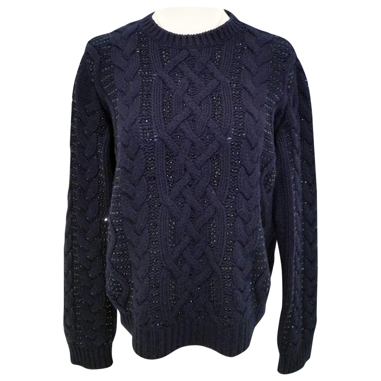 Valentino Garavani \N Navy Wool Knitwear for Women S International