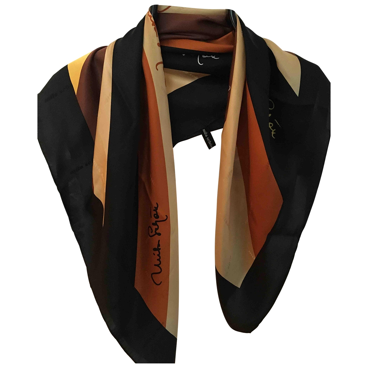 Mila Schön Concept \N Silk scarf for Women \N