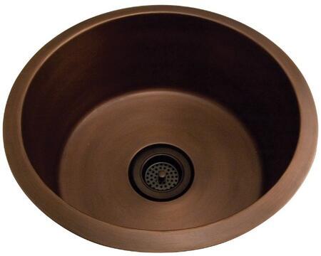 PSCSB3026-SAC Verona 18 Drum Copper Sink