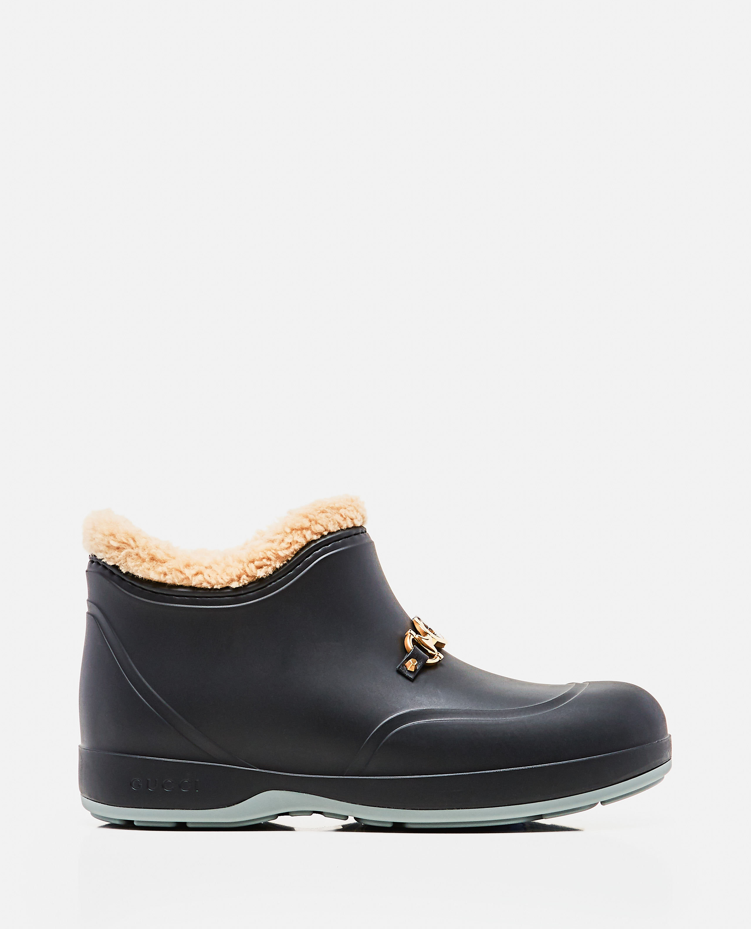 Mens ankle boot with Horsebit