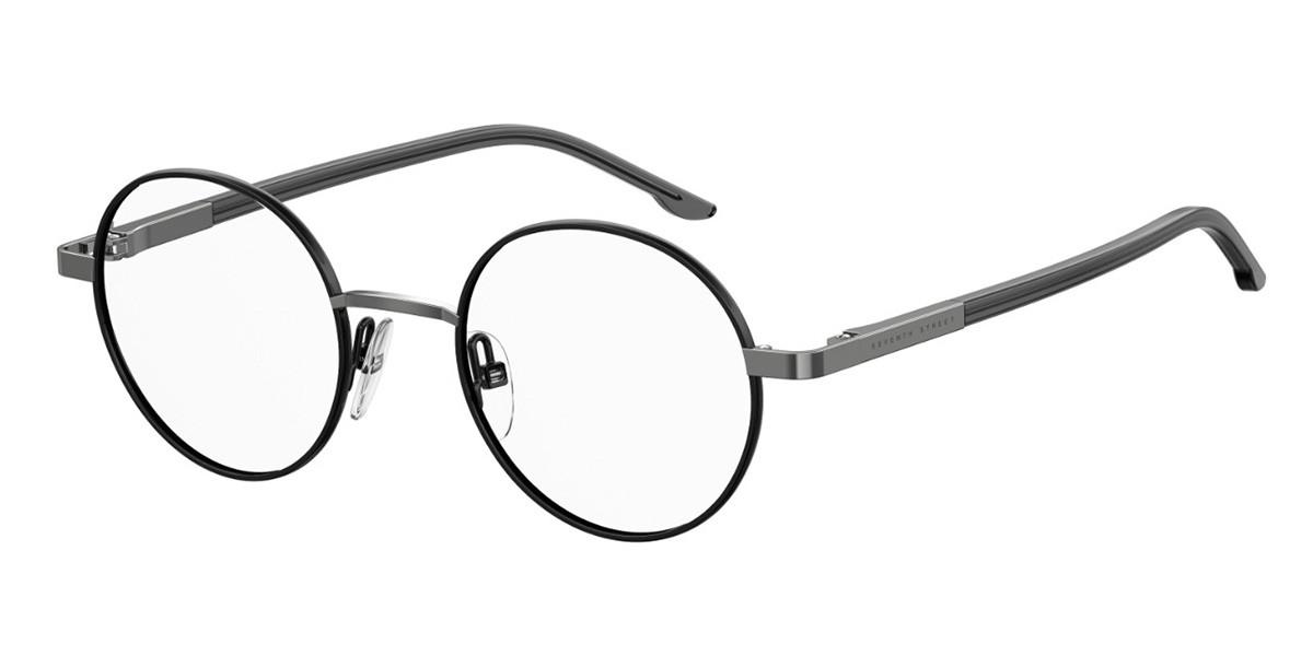 Seventh Street S296 KB7 Mens Glasses Black Size 46 - Free Lenses - HSA/FSA Insurance - Blue Light Block Available