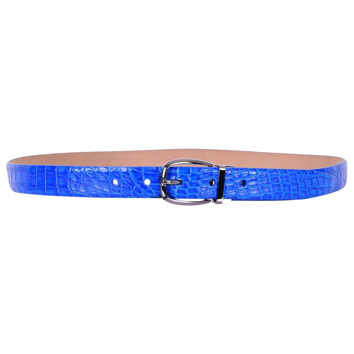 Dolce & Gabbana \N Blue Crocodile belt for Men 100 cm