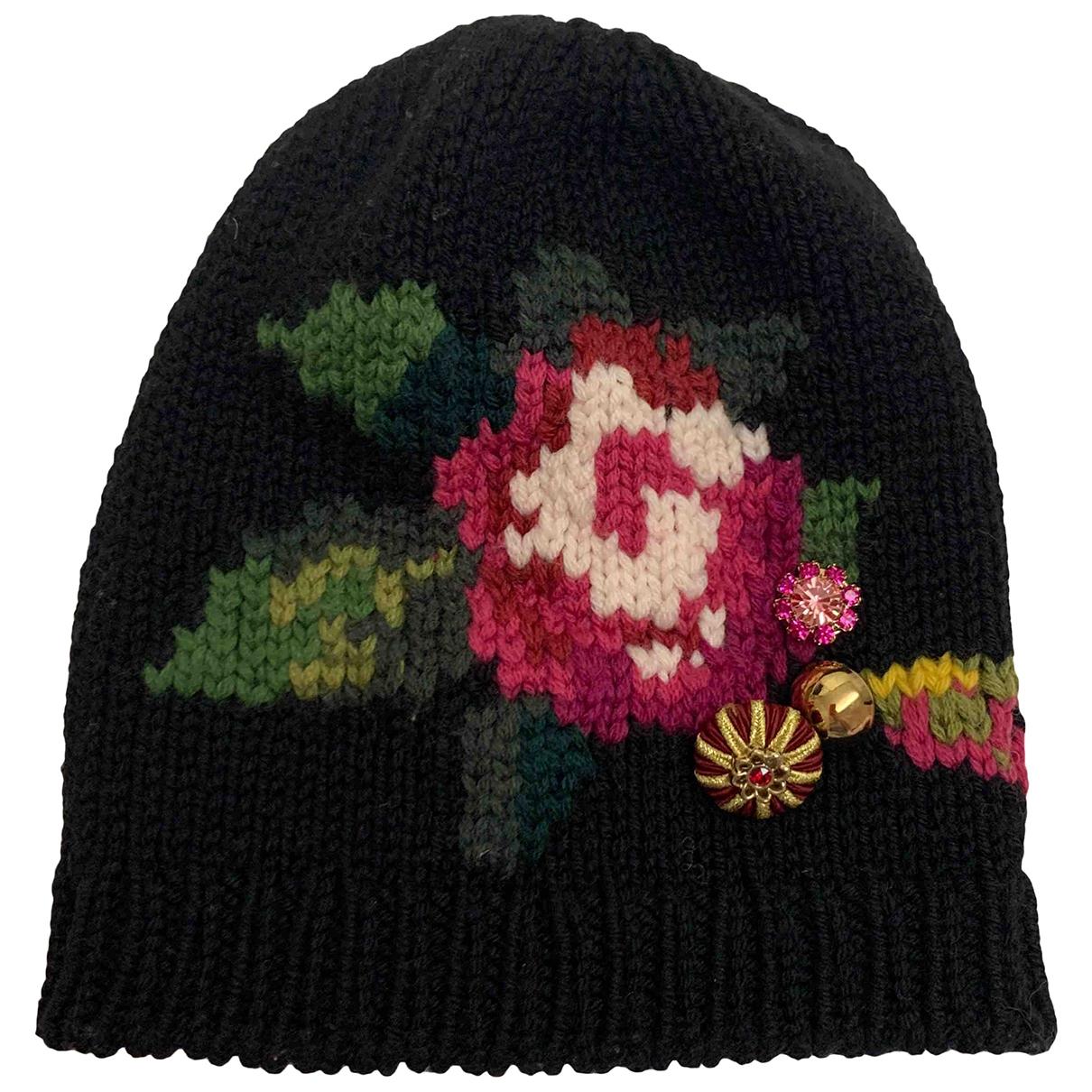 Dolce & Gabbana - Chapeaux.Bonnets.Gants   pour enfant en laine - noir