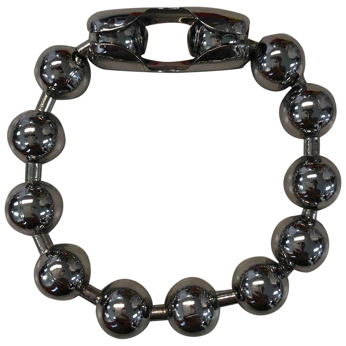 Mm6 - Bracelet   pour femme en metal - argente