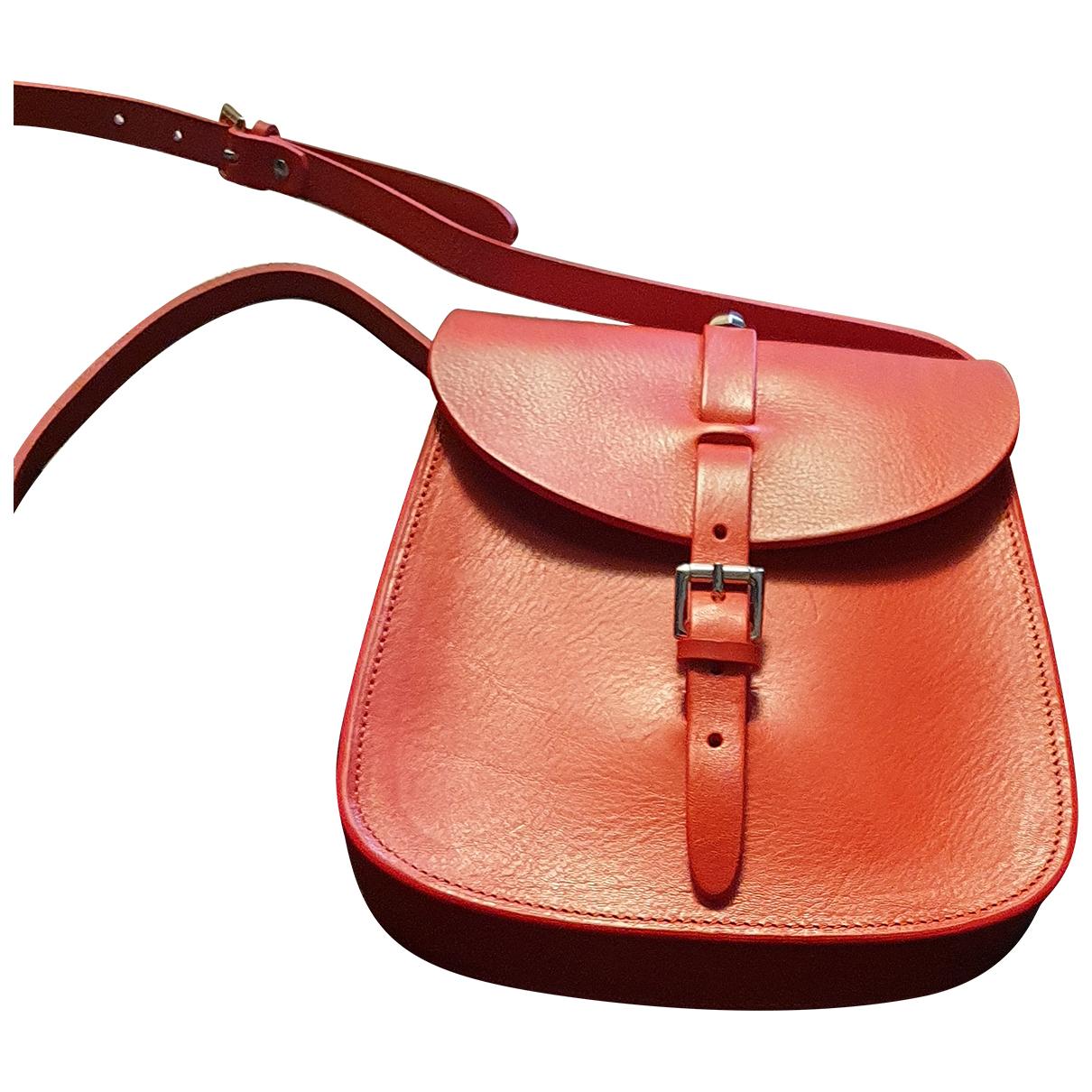 Herbert Frère Soeur N Red Leather handbag for Women N