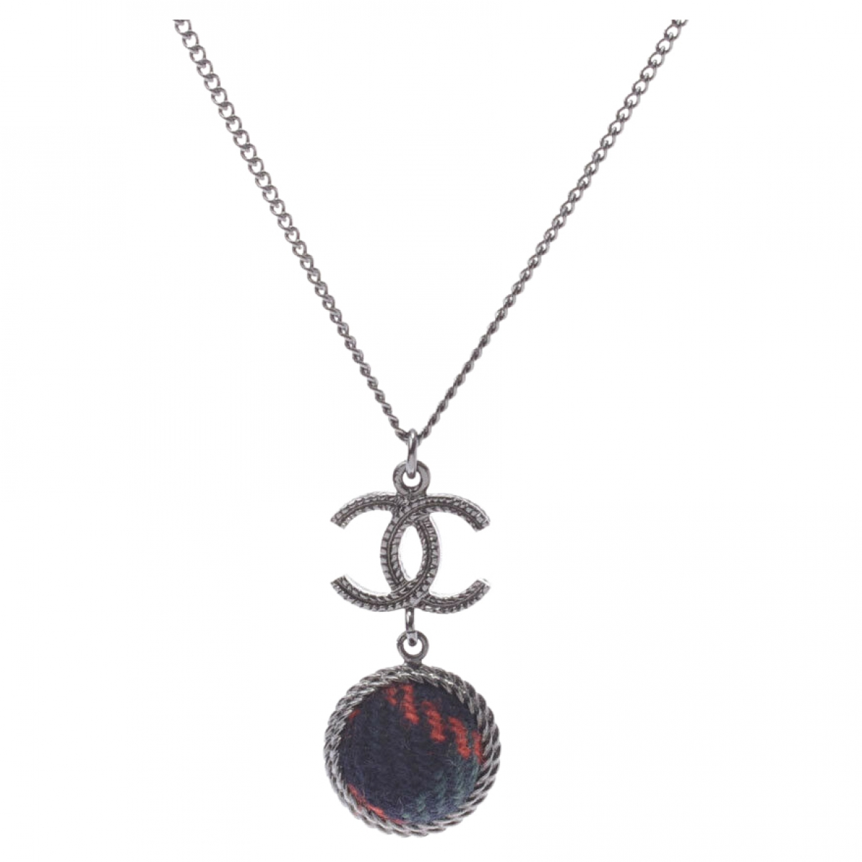 Chanel \N Silver Metal necklace for Women \N