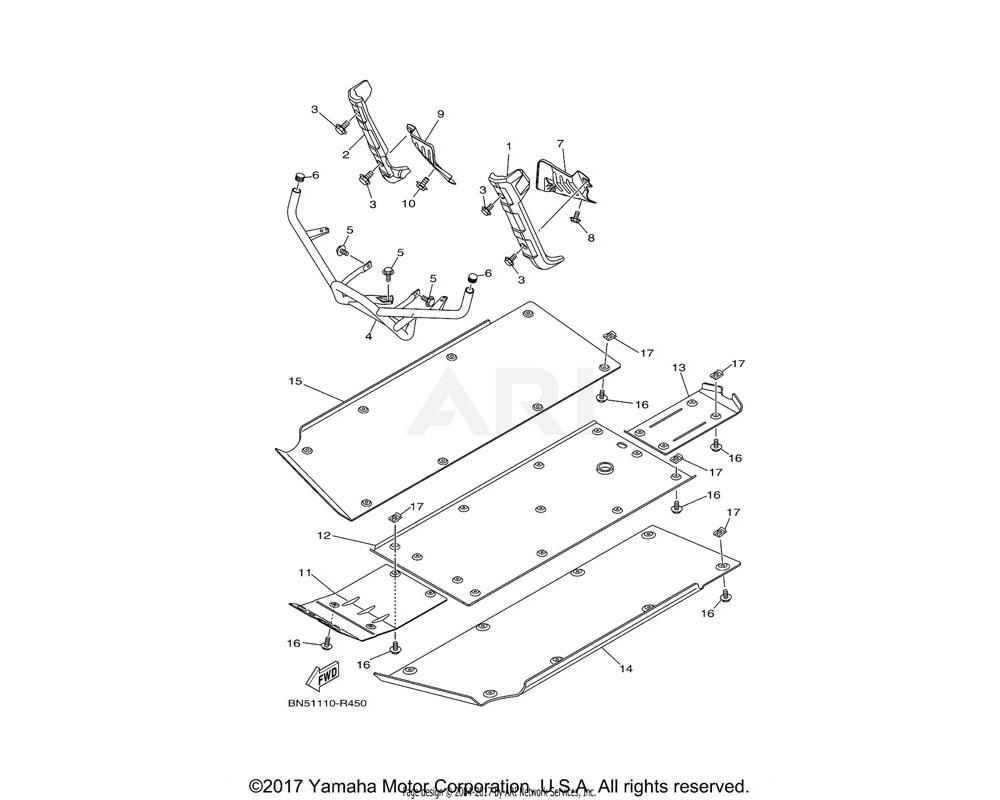 Yamaha OEM 2MB-F842N-01-00 COVER 2