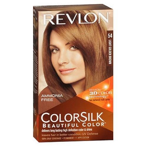 Revlon Colorsilk Natural Hair Color 5G Light Golden Brown each by Revlon