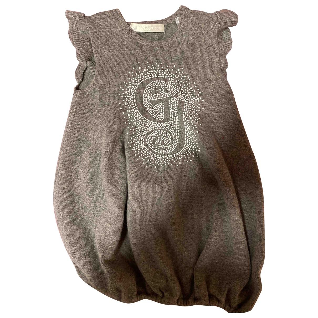 Guess - Robe    pour enfant - gris