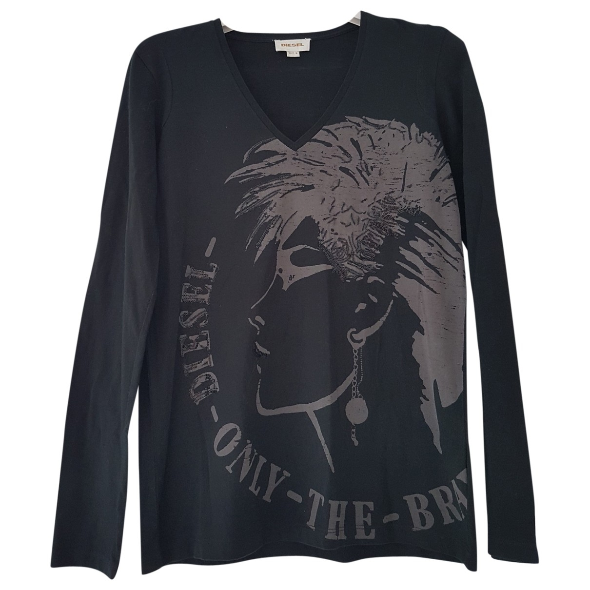 Diesel \N Black Cotton  top for Women M International