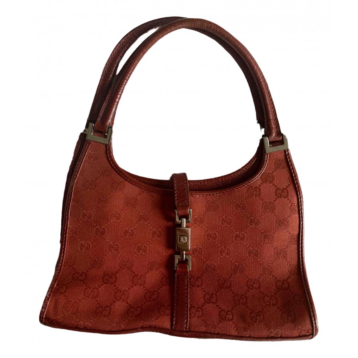 Gucci Jackie Red Cloth handbag for Women \N