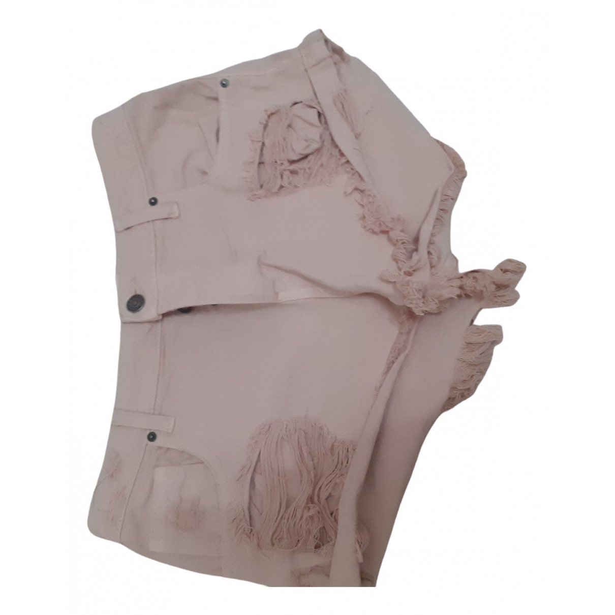 Vicolo \N Shorts in  Rosa Baumwolle