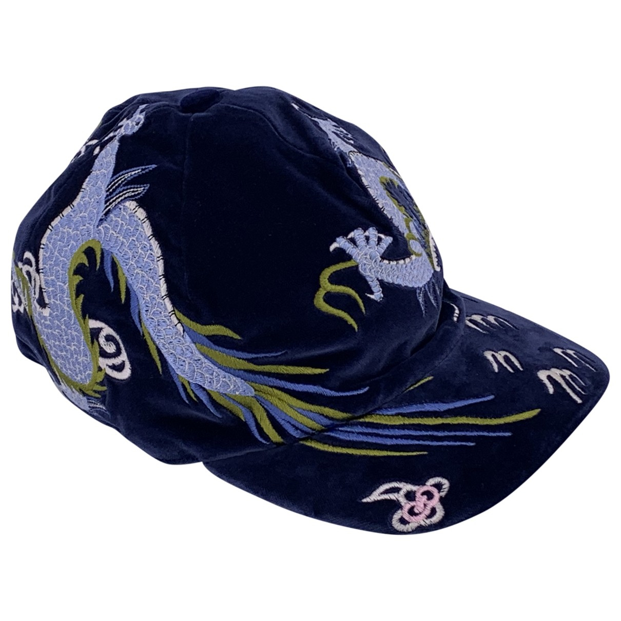 Gucci \N Blue Cotton hat & pull on hat for Men M International