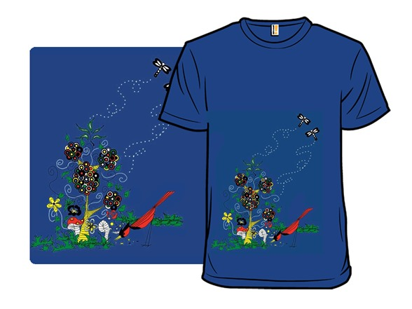 Enchanted Garden T Shirt