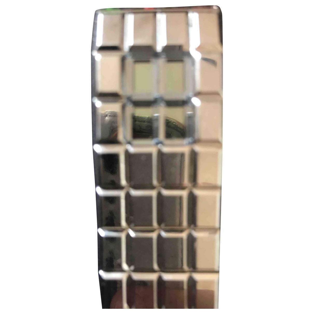 Chanel \N Uhr in  Metallic Stahl