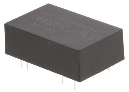 Recom REC5 5W Isolated DC-DC Converter Through Hole, Voltage in 9 → 18 V dc, Voltage out 5V dc Medical Approved