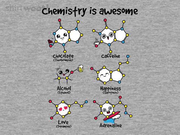 Chemistry Is Awesome T Shirt