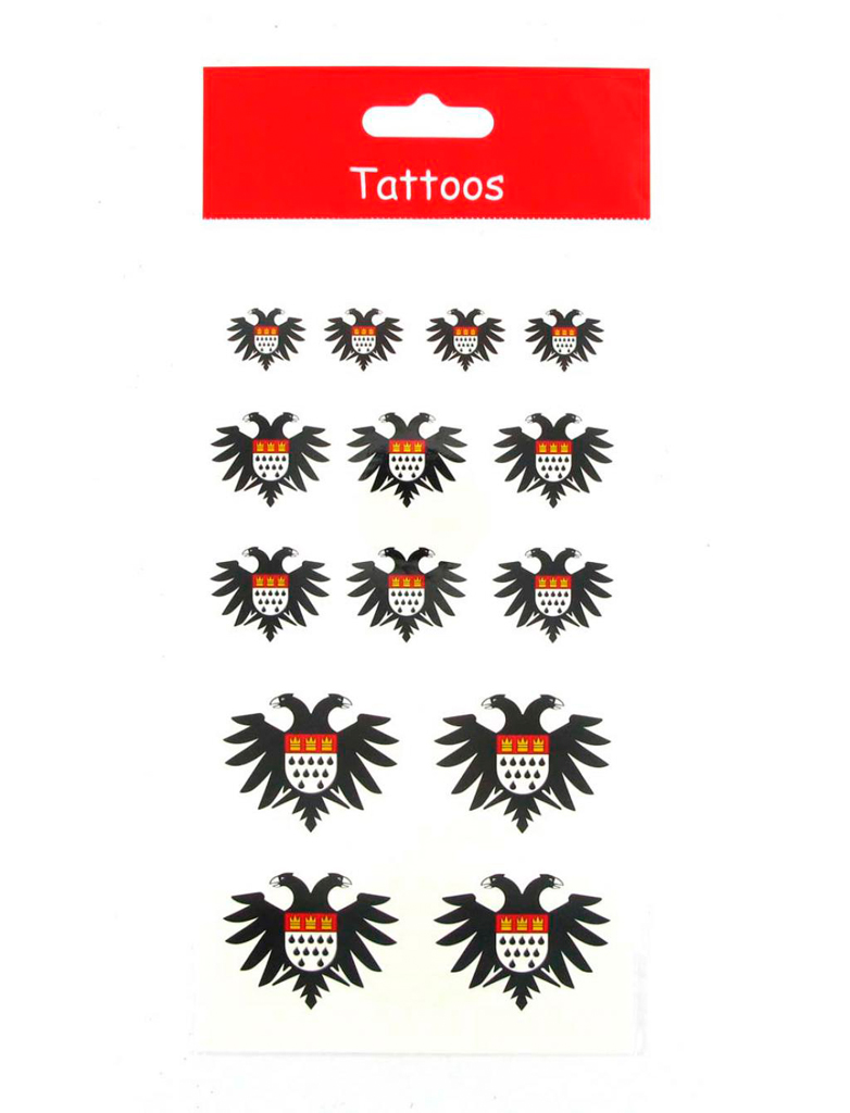 Kostuemzubehor Tattoos Koln Adler Farbe: schwarz