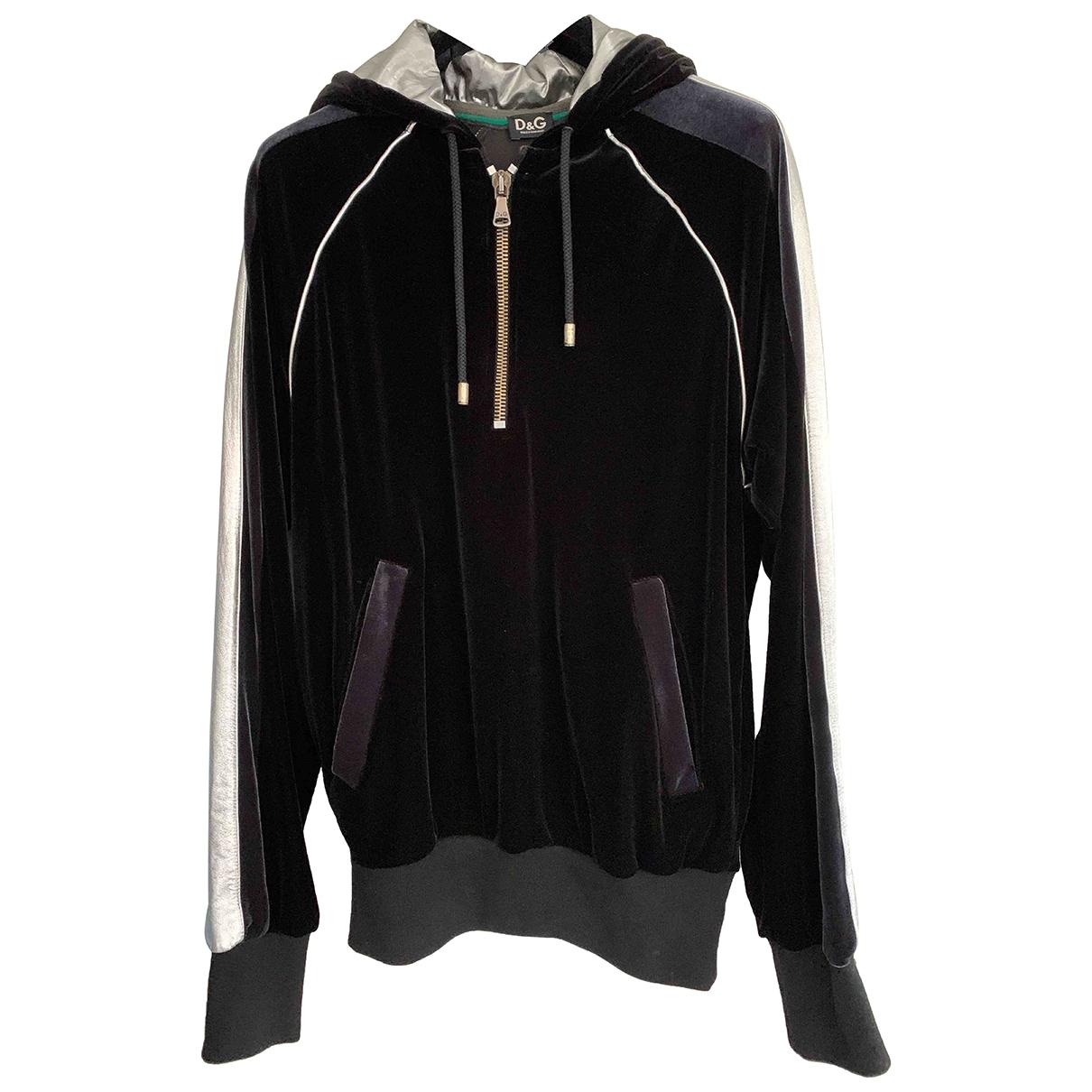 D&g \N Pullover.Westen.Sweatshirts  in  Schwarz Polyester