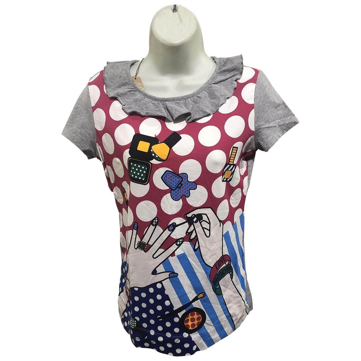 Moschino Love - Pull   pour femme en coton - multicolore