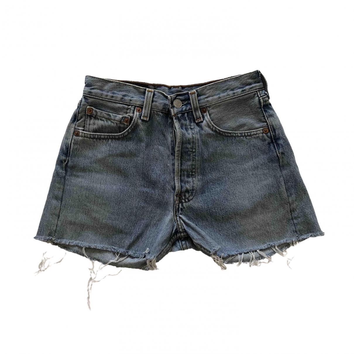 Levi's \N Blue Denim - Jeans Shorts for Women XS International
