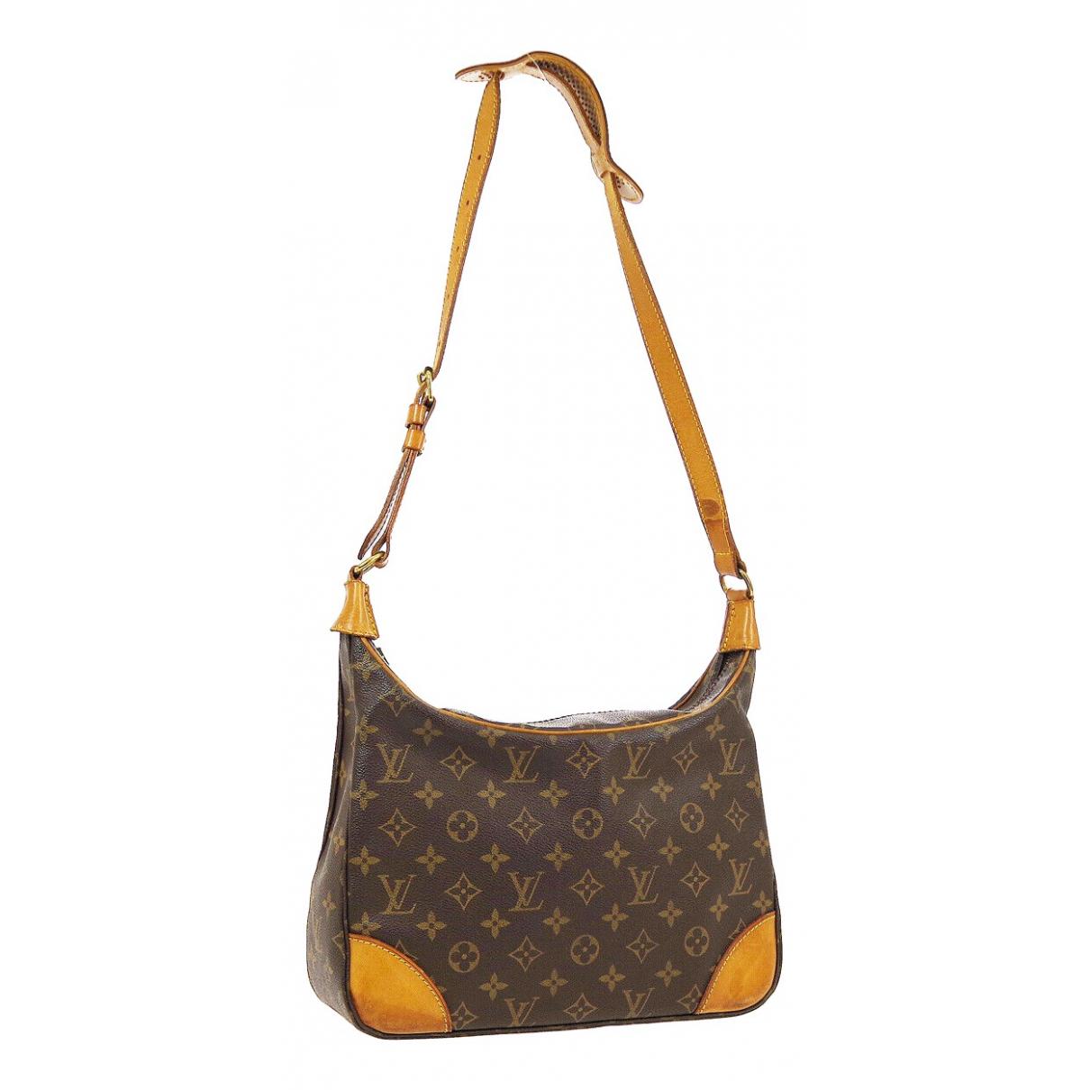 Louis Vuitton - Sac a main Boulogne pour femme en toile - marron