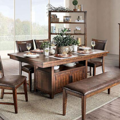 Wichita Collection CM3061T Dining Table in Light