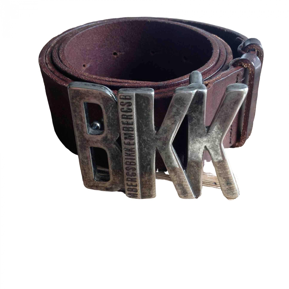 Dirk Bikkembergs \N Brown Leather belt for Men M international