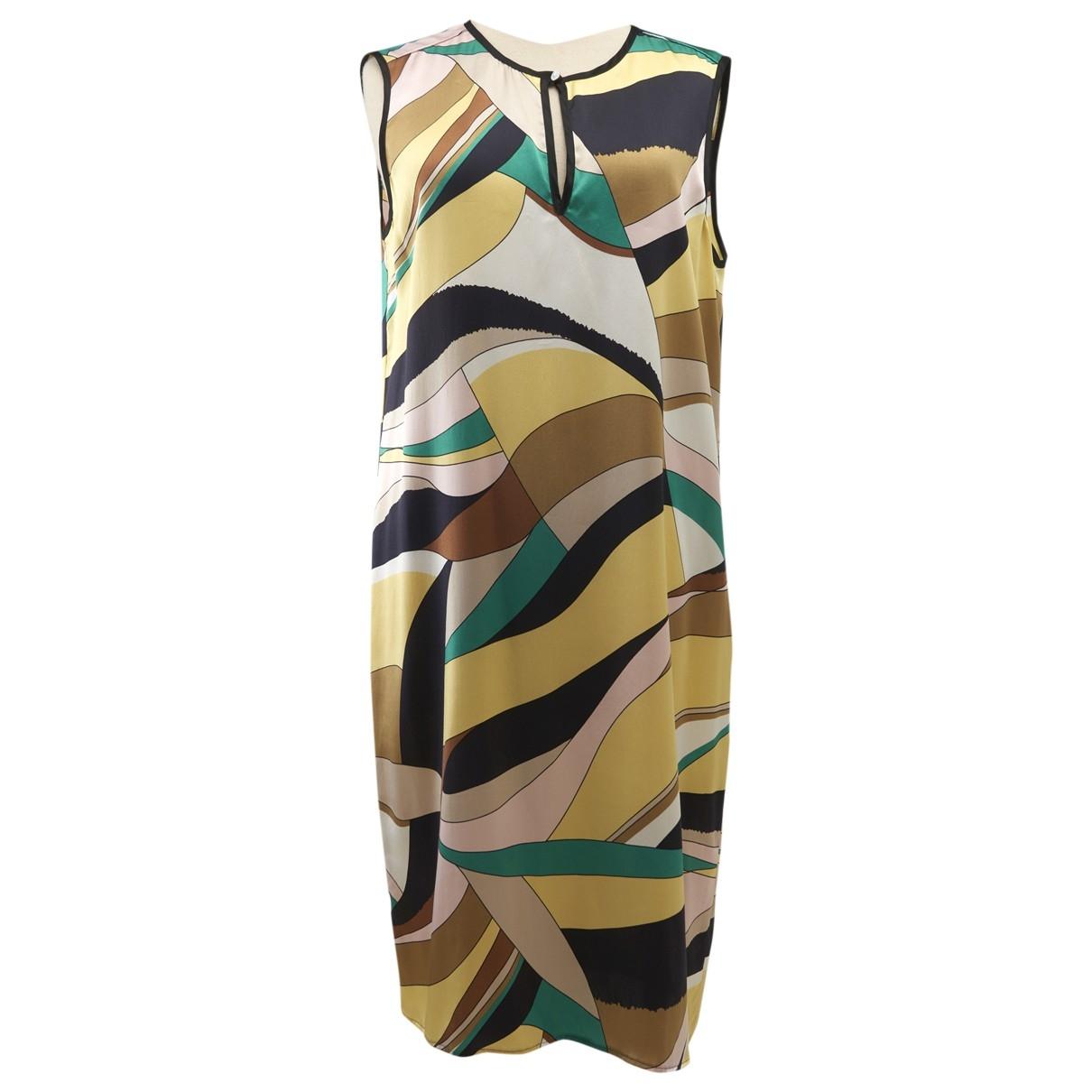 Marella \N Kleid in  Bunt Seide