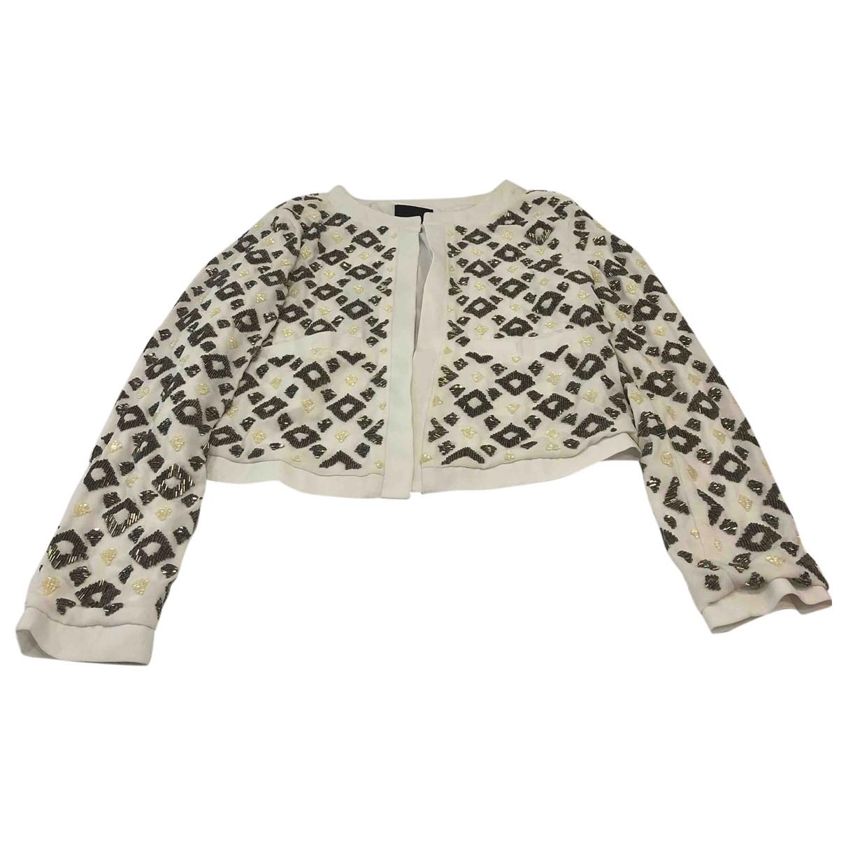 Gestuz \N White jacket for Women 36 FR
