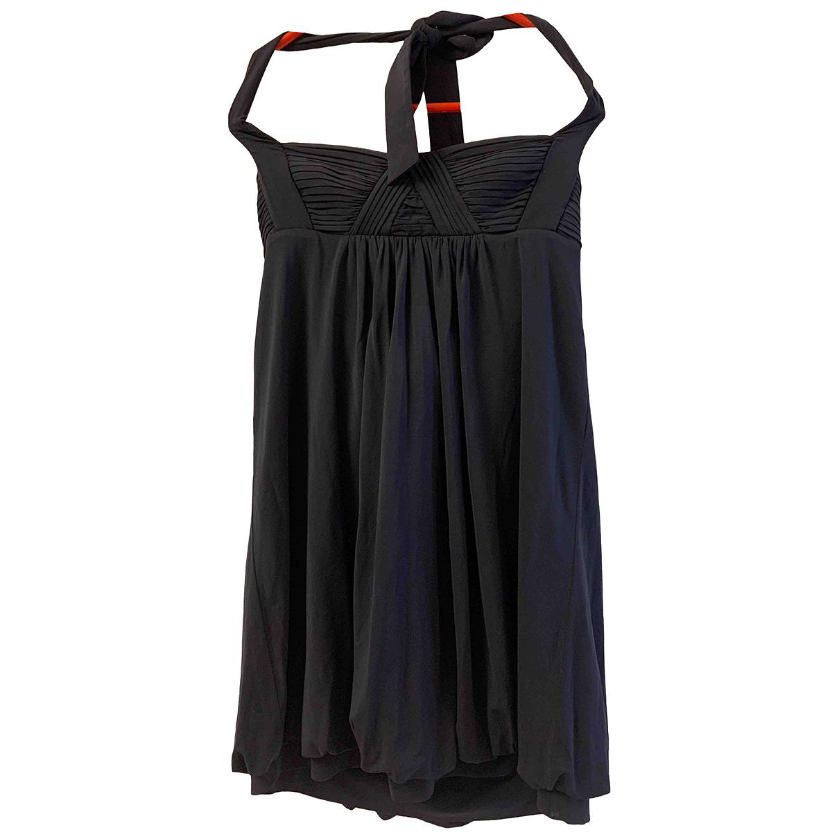 Bcbg Max Azria \N Kleid in  Blau Synthetik