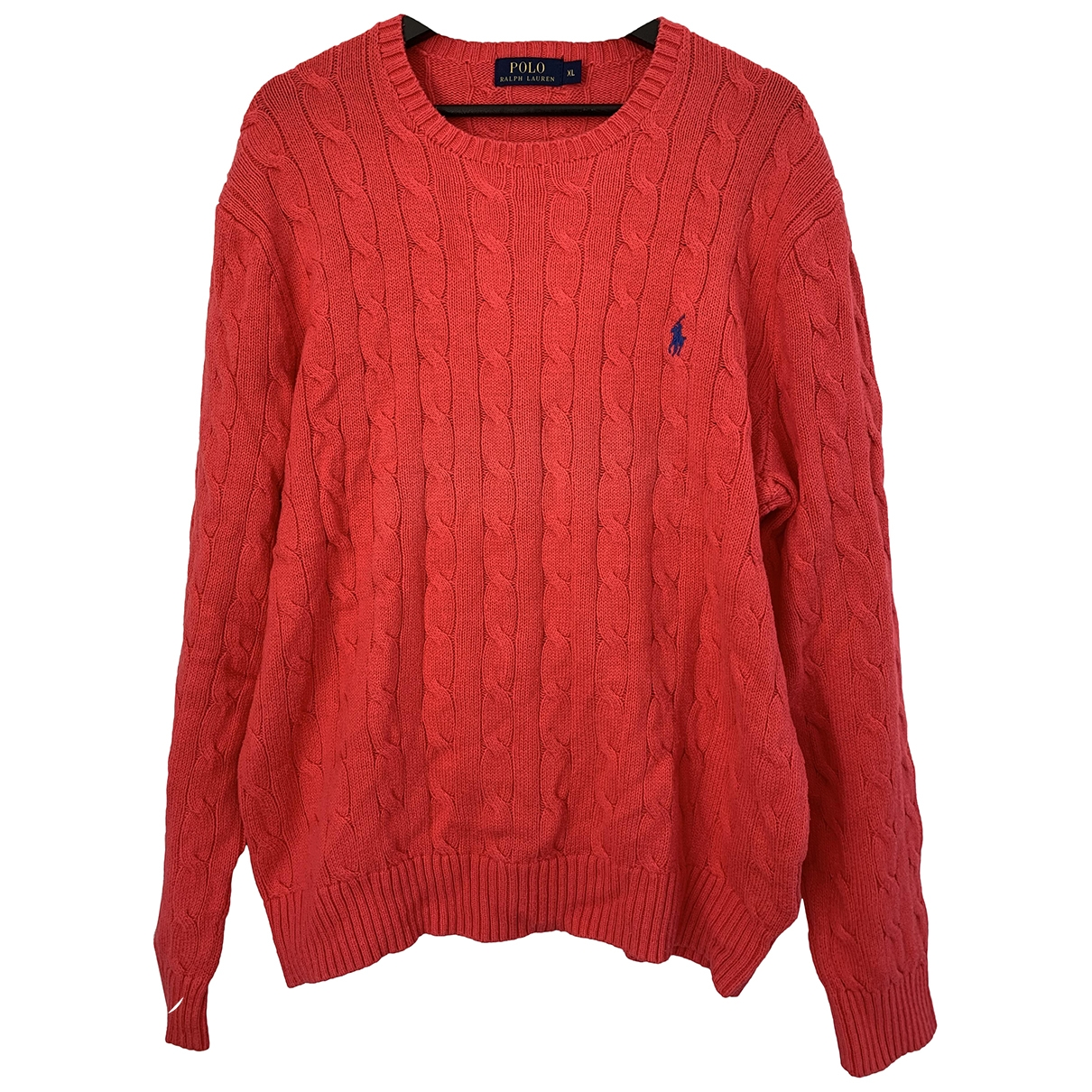 Polo Ralph Lauren \N Pullover.Westen.Sweatshirts  in  Rot Wolle