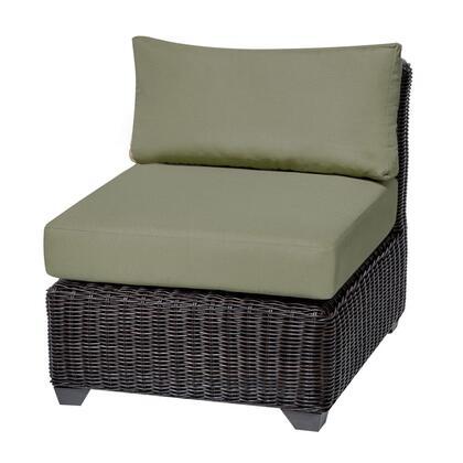 TKC050b-AS-DB-CILANTRO Venice Armless Sofa 2 Per Box with 2 Covers: Wheat and