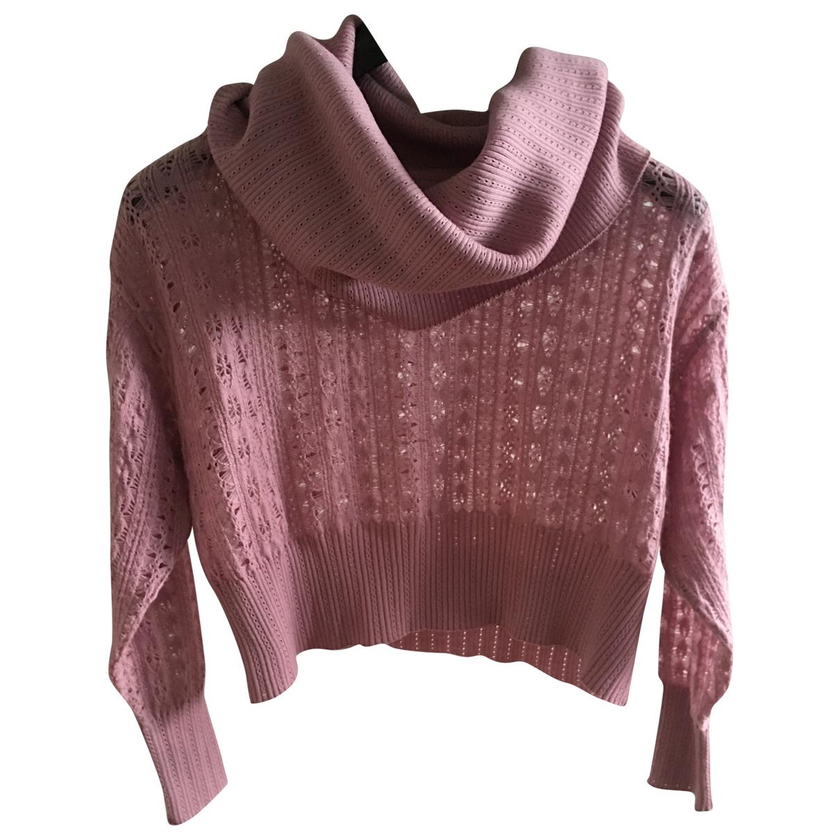 Dior - Pull   pour femme en laine - rose