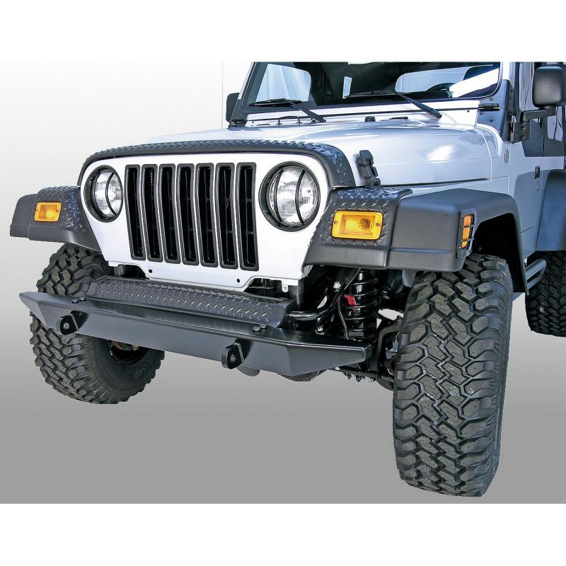 Rugged Ridge 11650.2 Body Armor Kit, Front, Fender Guards; 97-06 Jeep Wrangler TJ Jeep Wrangler 1997-2006