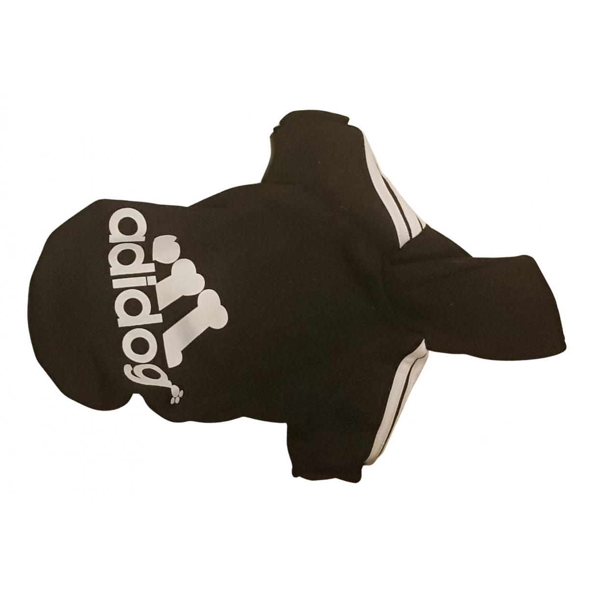 Adidas \N Kleidungsstuecke in  Schwarz Baumwolle