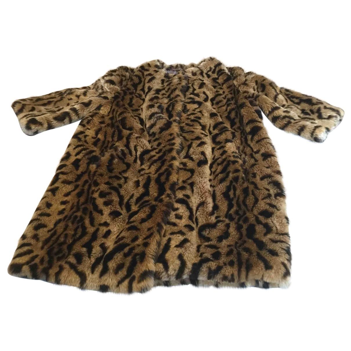 Blf - Manteau   pour femme en fourrure synthetique