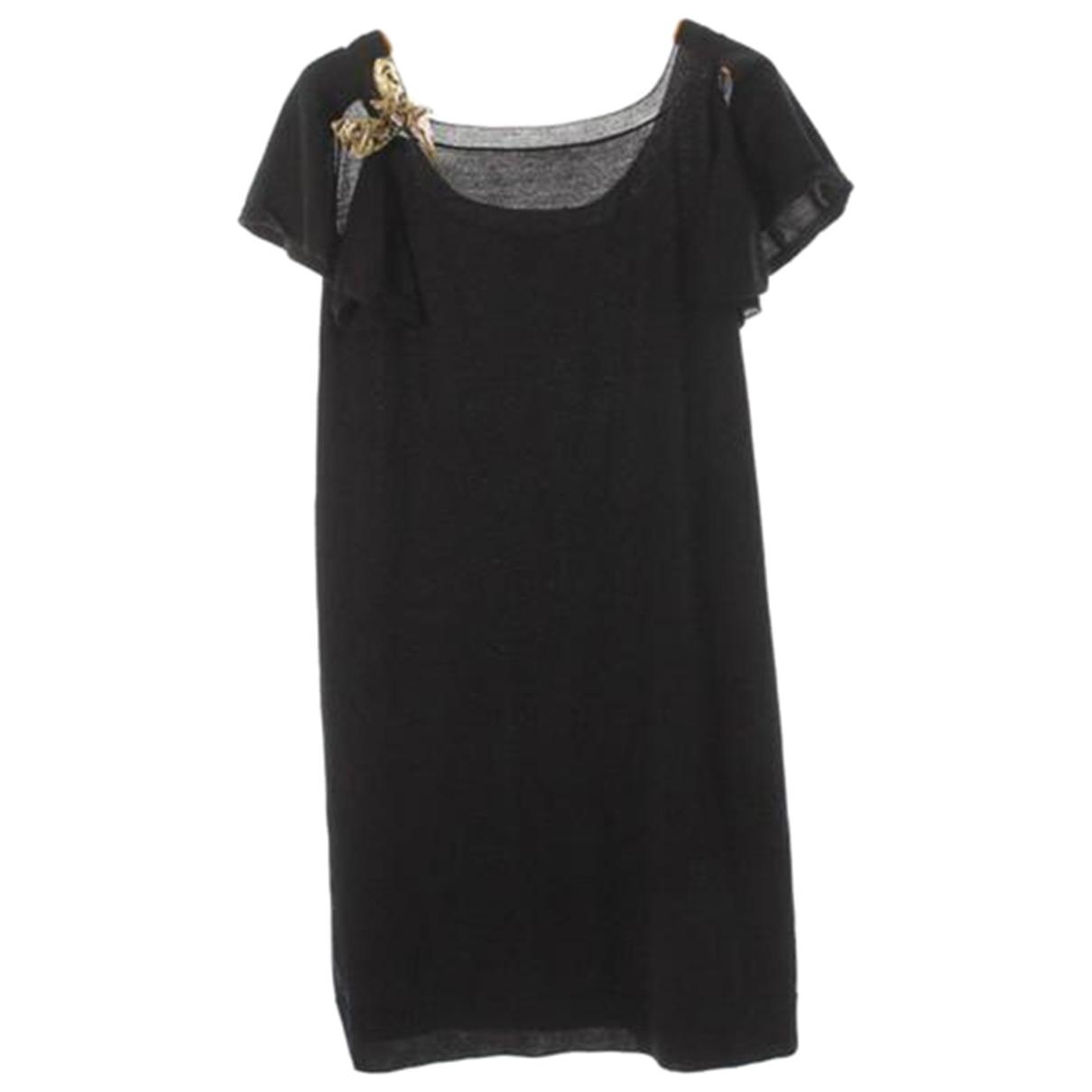 Louis Vuitton - Robe   pour femme en laine - noir