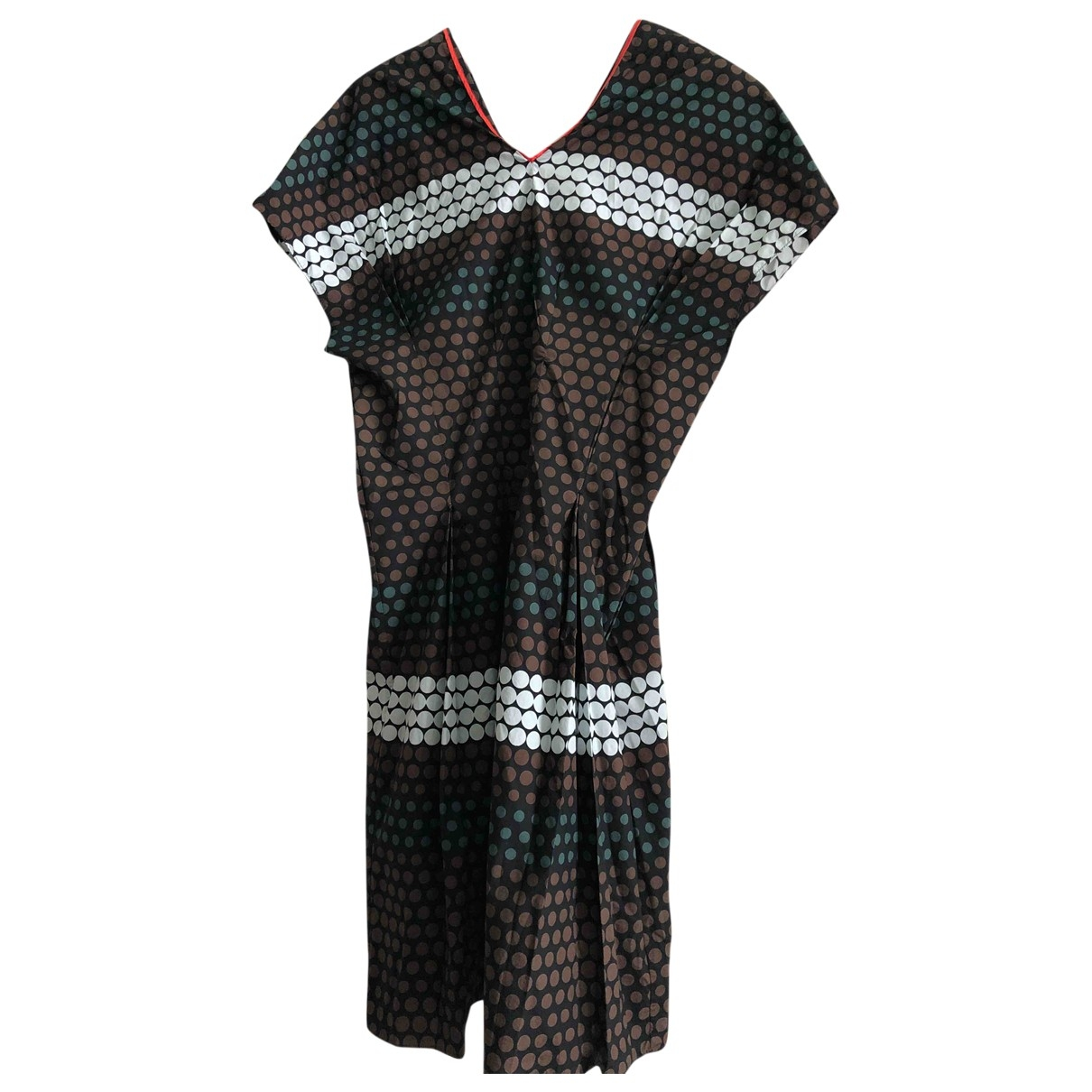 Marni \N Black Cotton dress for Women 38 IT