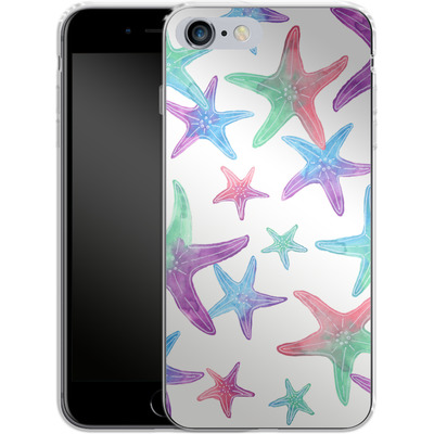 Apple iPhone 6 Plus Silikon Handyhuelle - Starfish Print von Becky Starsmore