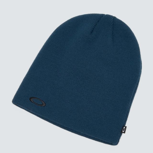 Oakley Mens Pond Blue Fine Knit Beanie