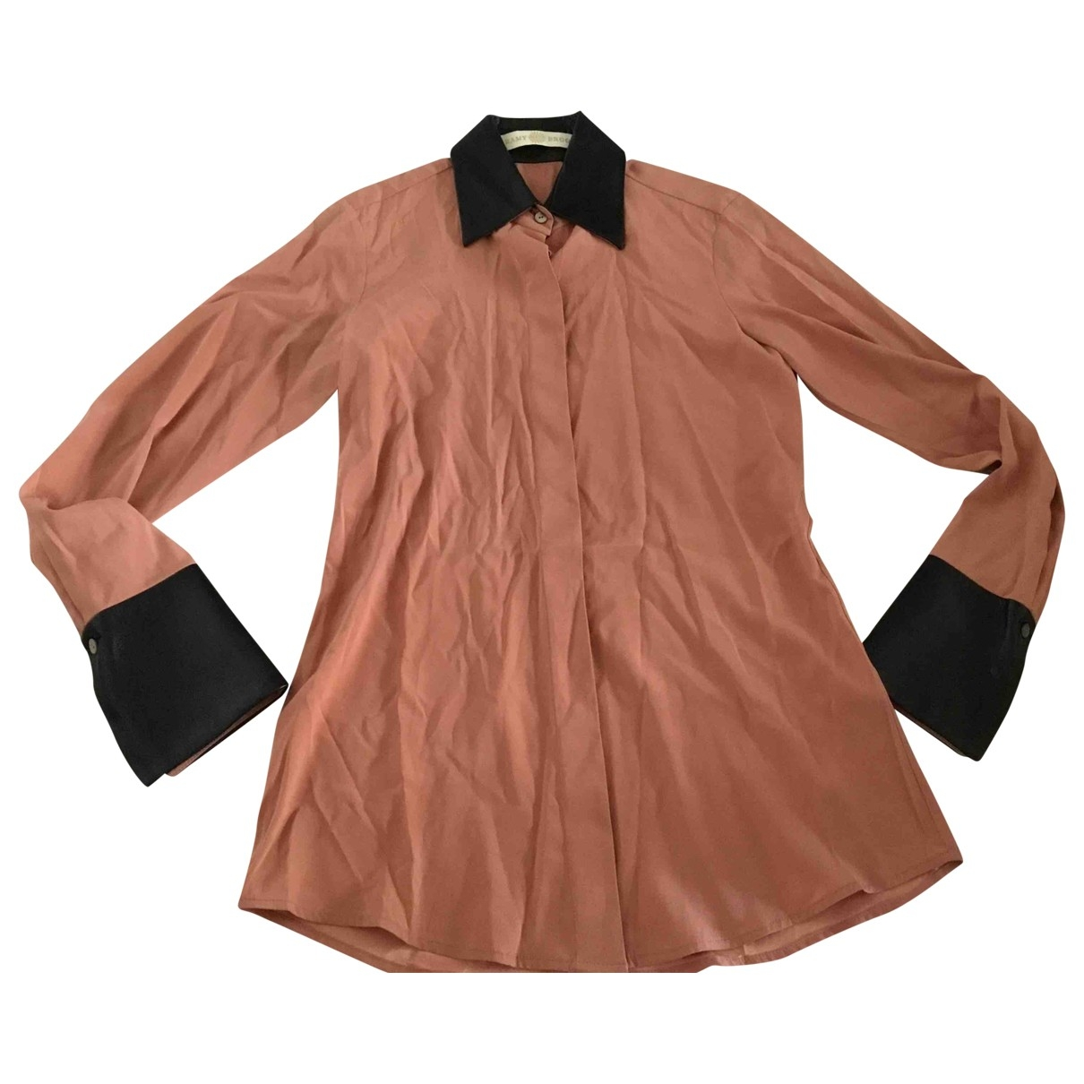 Ramy Brook \N Pink Silk  top for Women 36 FR