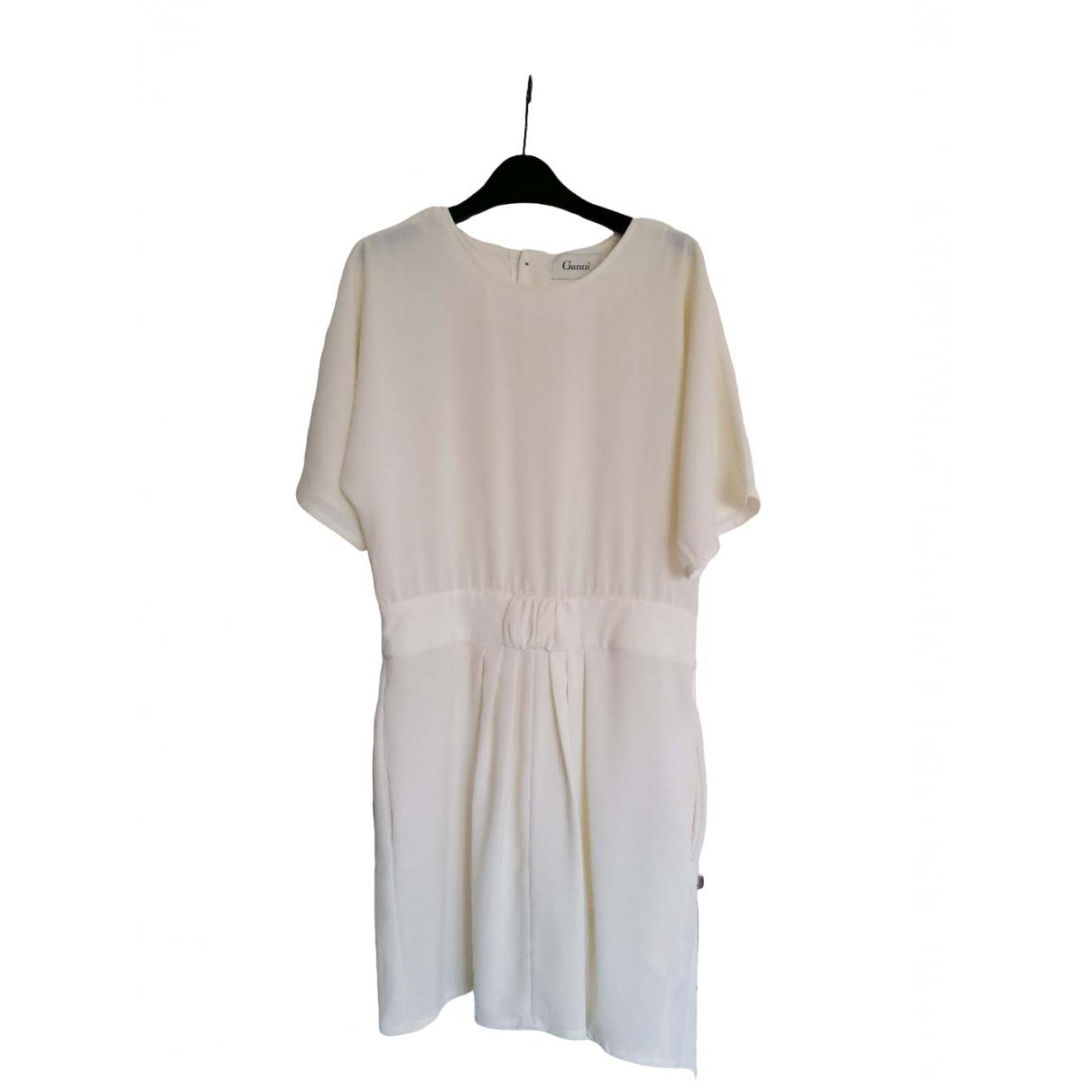 Ganni \N Ecru dress for Women L International
