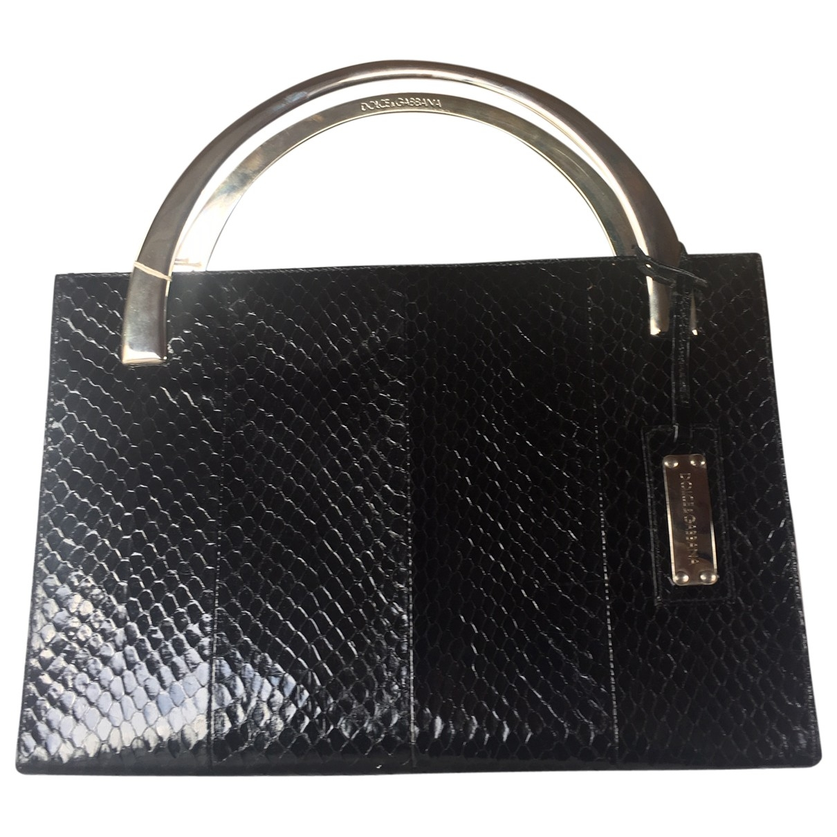 Dolce & Gabbana \N Black Python handbag for Women \N