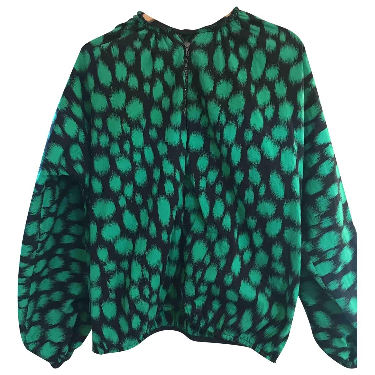 Lanvin \N Green Cotton jacket for Women 42 FR