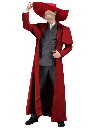 Milanoo Hellsing Alucard Cosplay Costume Halloween