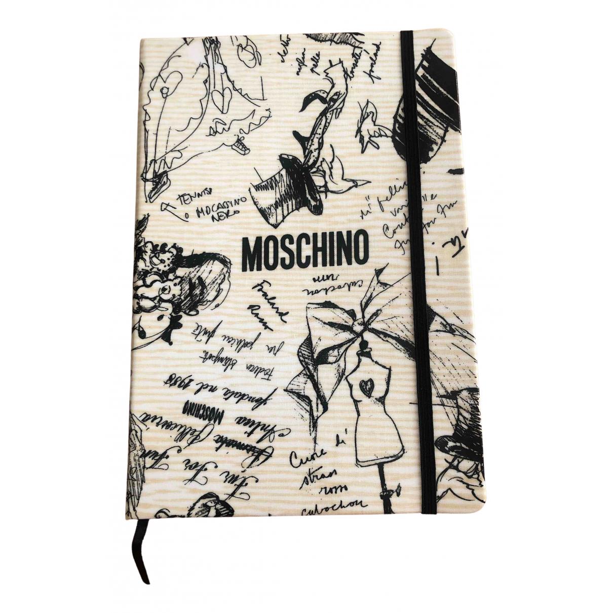 Moschino - Objets & Deco   pour lifestyle en toile - beige