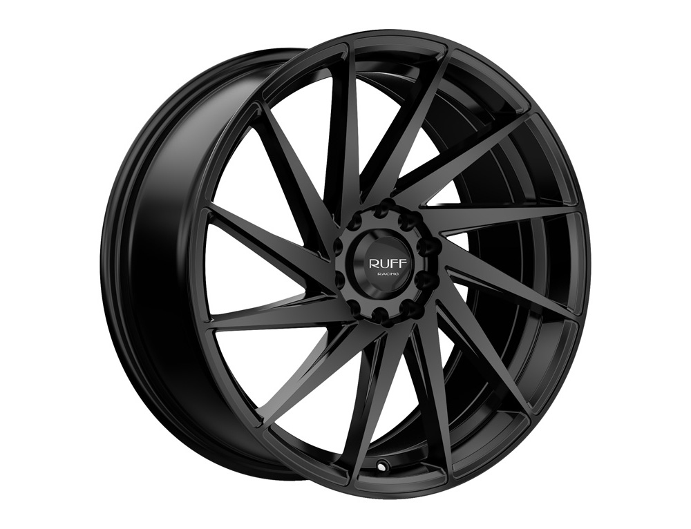 RUFF R363 Wheel 18x8 4x100 38mm Satin Black