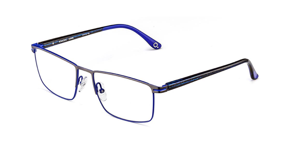 Etnia Barcelona Komodo GMBL Men's Glasses Blue Size 57 - Free Lenses - HSA/FSA Insurance - Blue Light Block Available